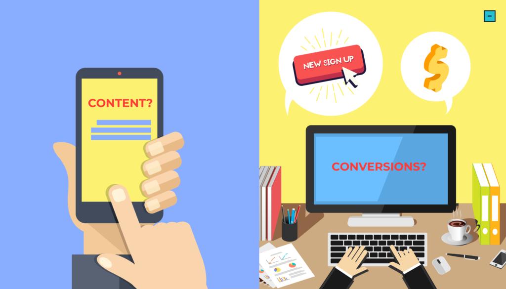 Content vs. Conversions