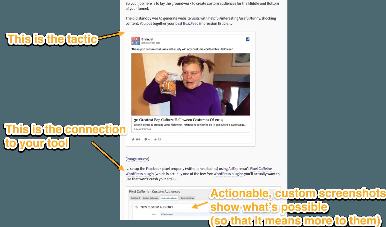 AdEspresso Content Example