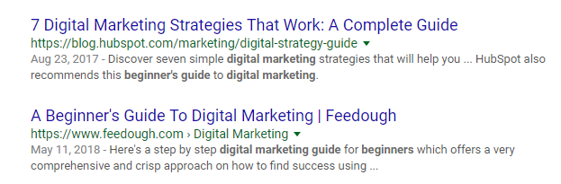Google-search-showing-Hubspot-first-on-list