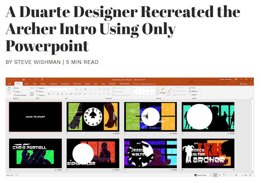 the-Duarte-Blog-homepage