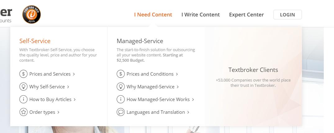 Textbroker-I-Need-Content-option