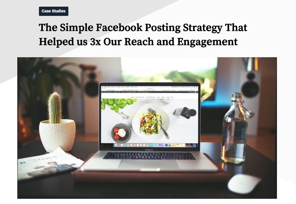 Buffer-post-on-Facebook-organic-reach