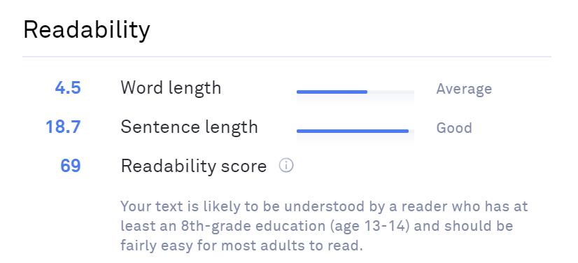 Textbroker-Readability-Score