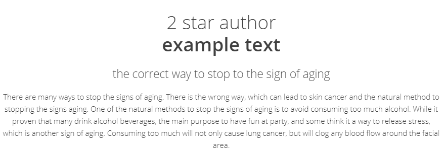 Textbroker-2-star-example-text