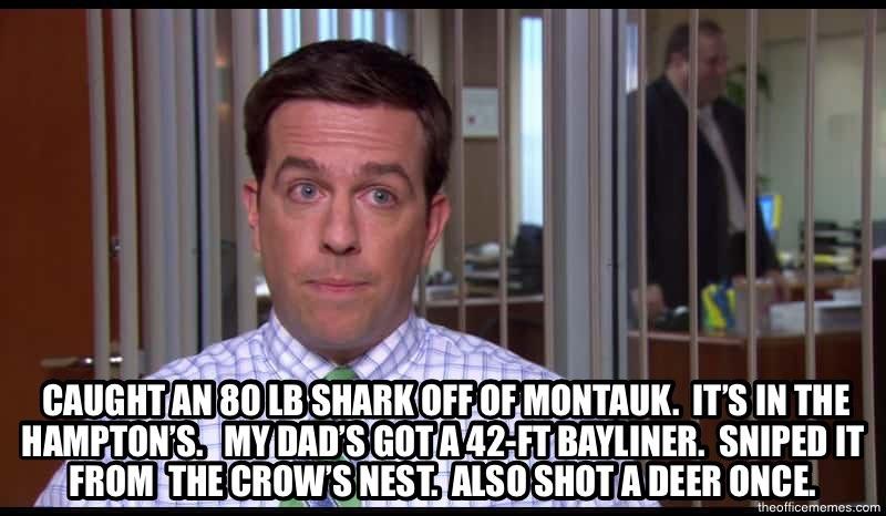 The-Office-meme-Andy-Bernard-caught-80lb-shark