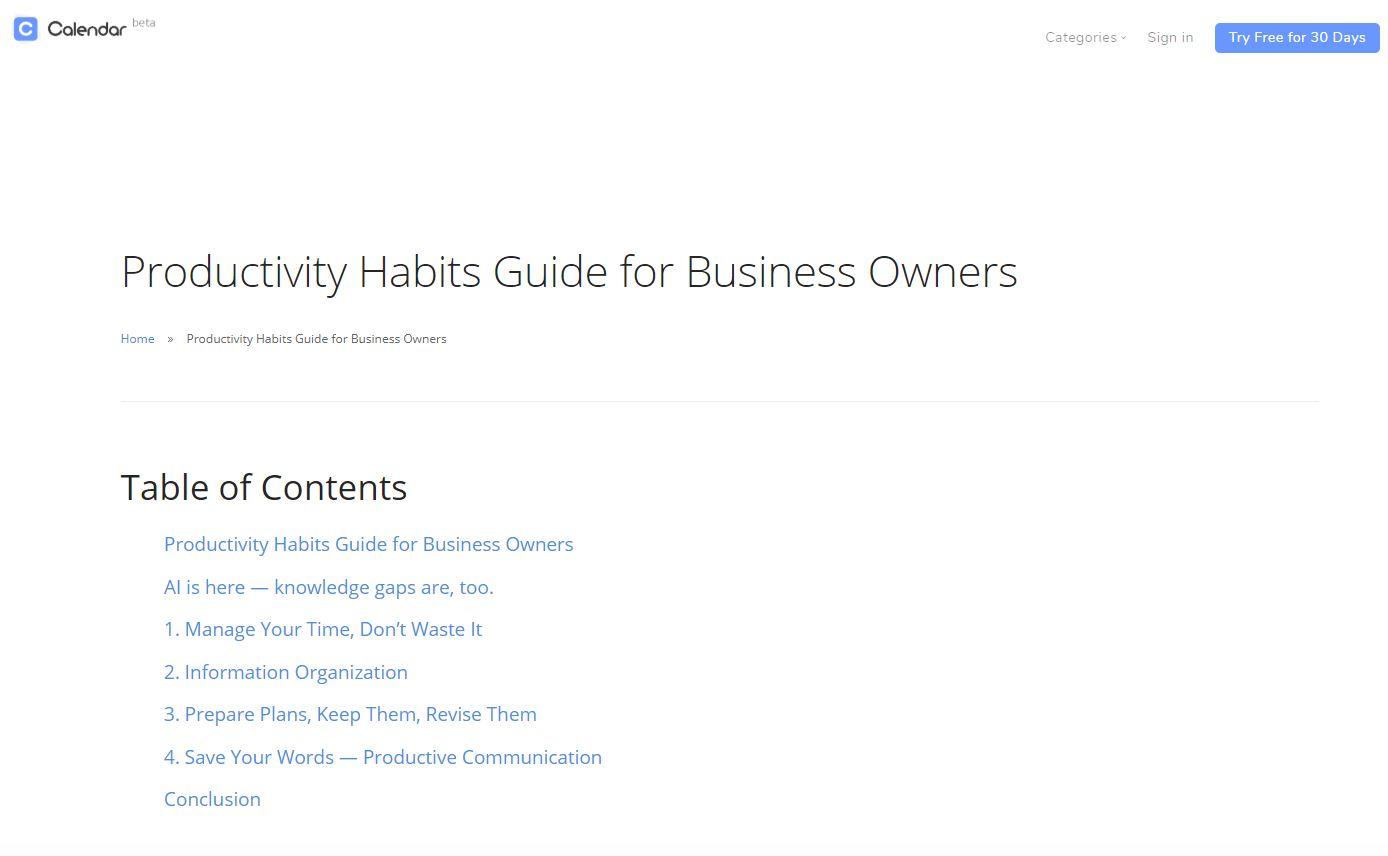 B2B Content Creation Blog