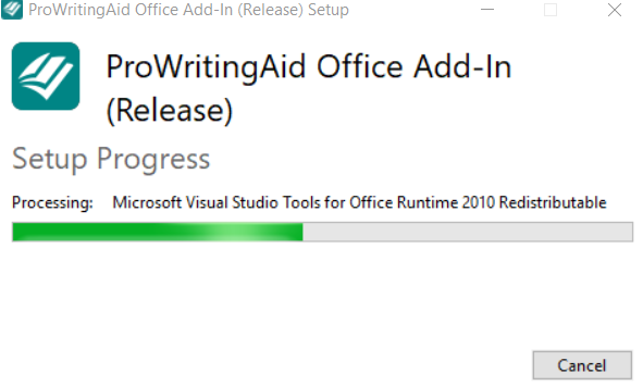 ProWritingAid Office Add-In for Word