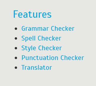 WhiteSmoke Grammar Checker Features List
