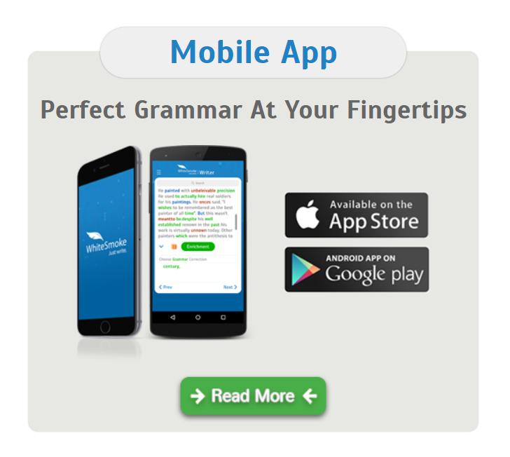 WhiteSmoke Mobile App Availability
