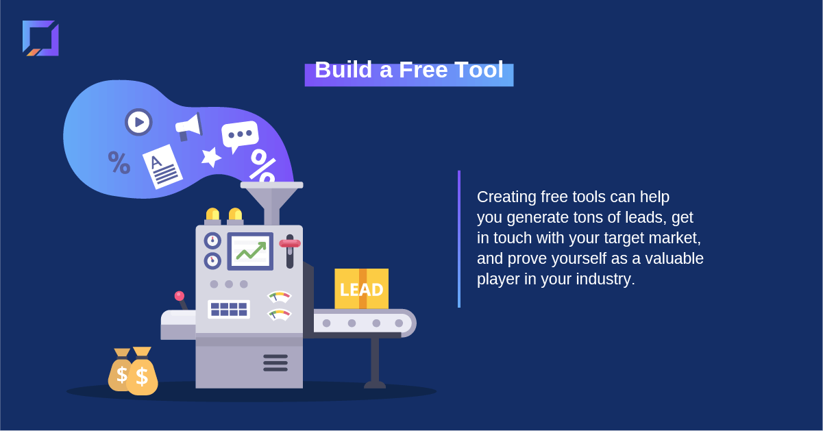 content from zero to 100 build a free tool