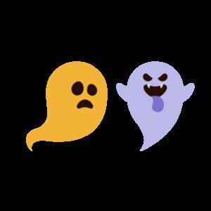 Illustration of ghosts