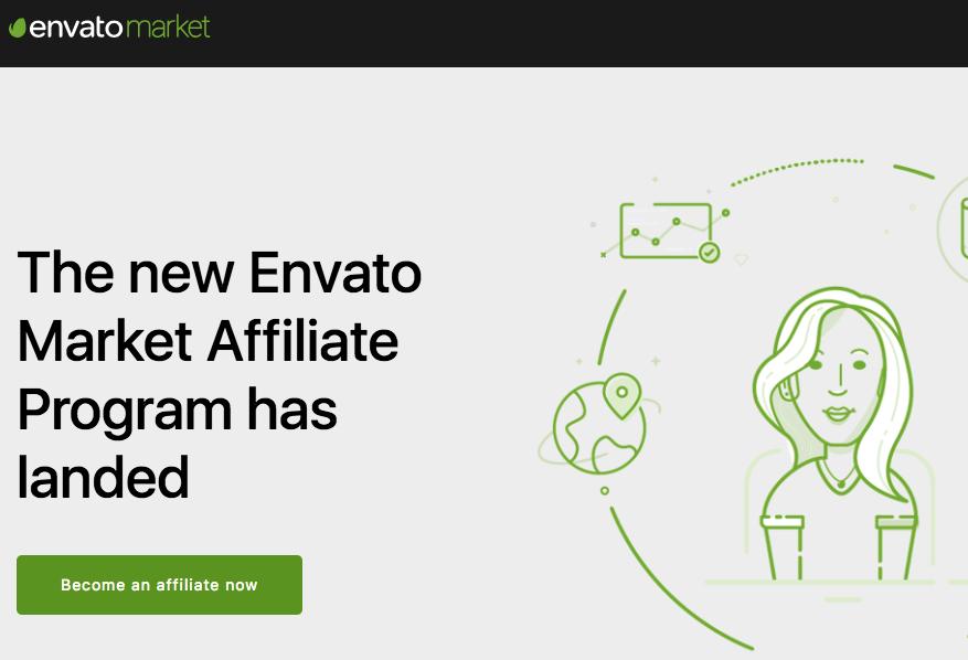 Envato's affiliate program
