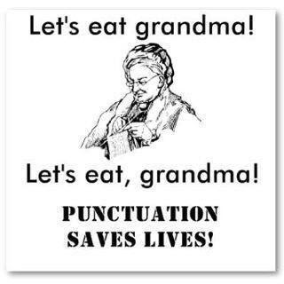 writing conventions punctuation