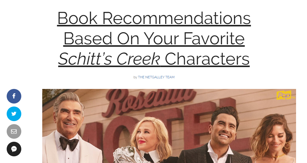 Sample quiz from Bookish