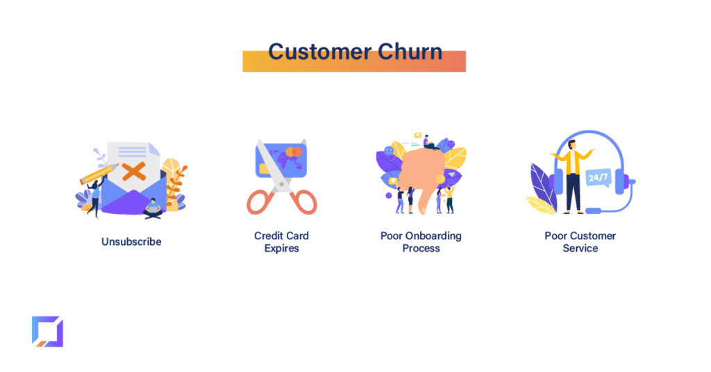 reasons for customer churn