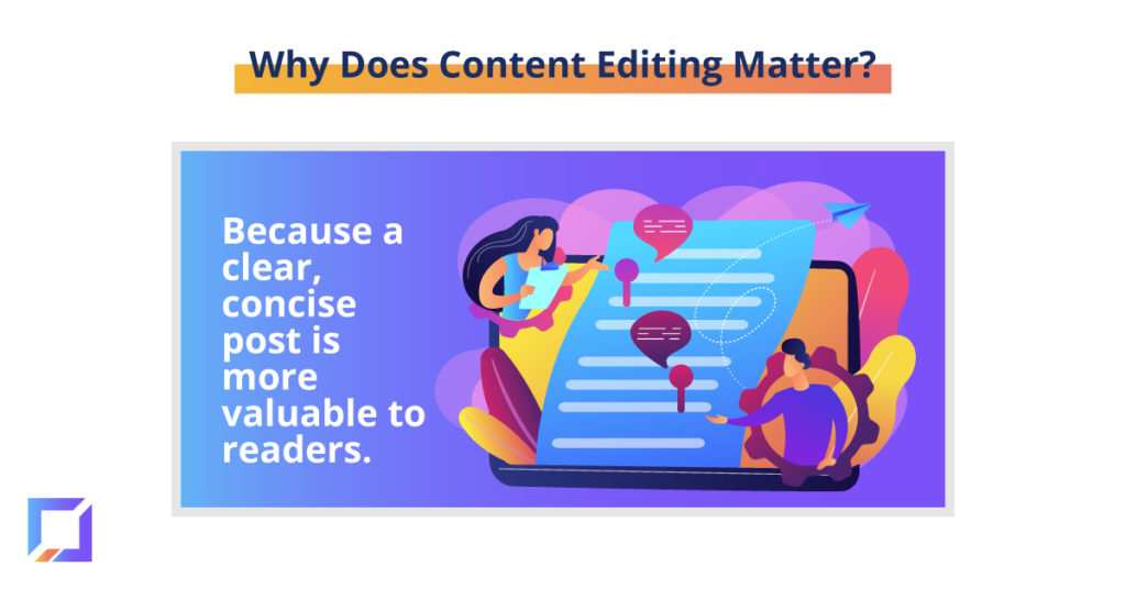 why content editing is important