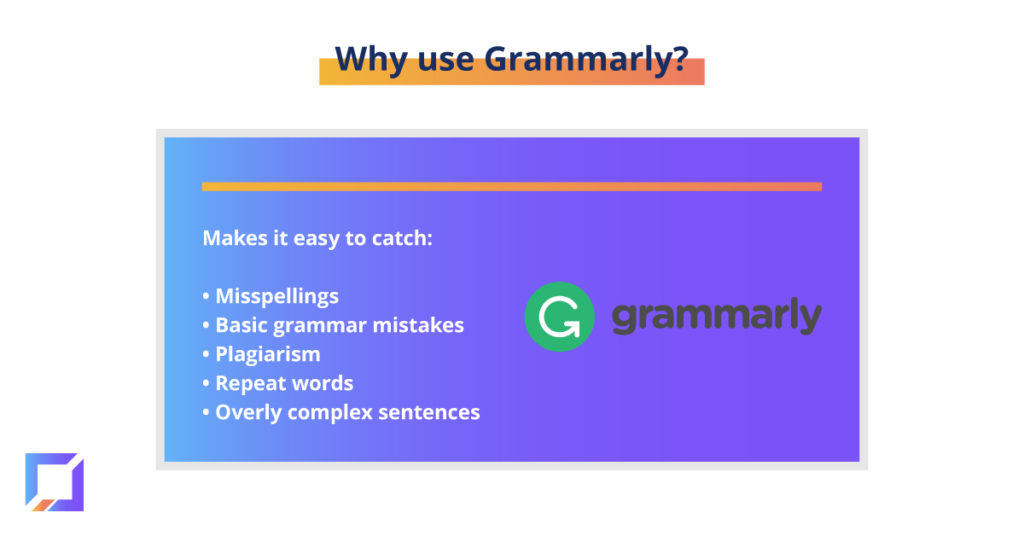 why use grammarly