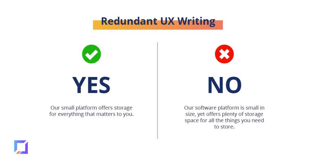 avoid redundant writing