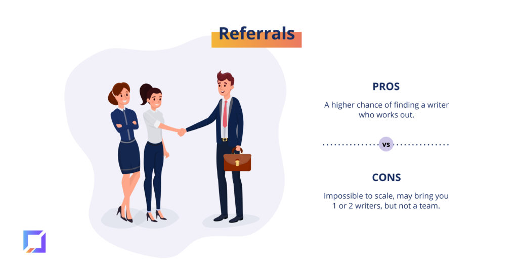 pros and cons of referrals