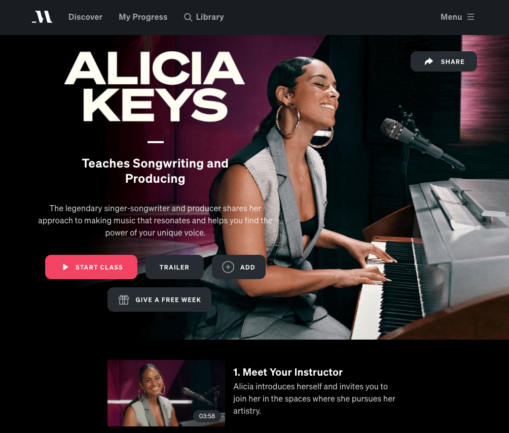 alicia keys masterclass review