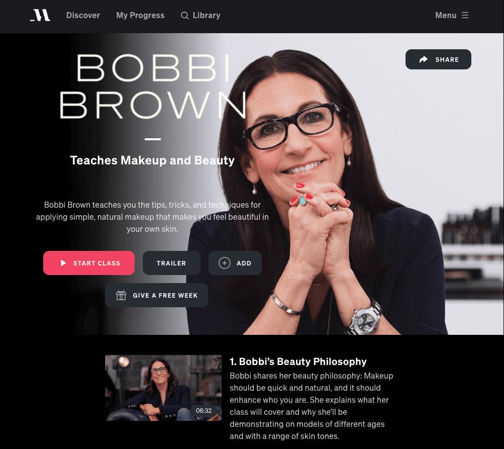 bobbi brown masterclass review