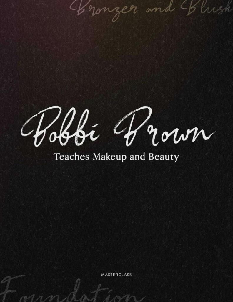 bobbi brown masterclass workbook example