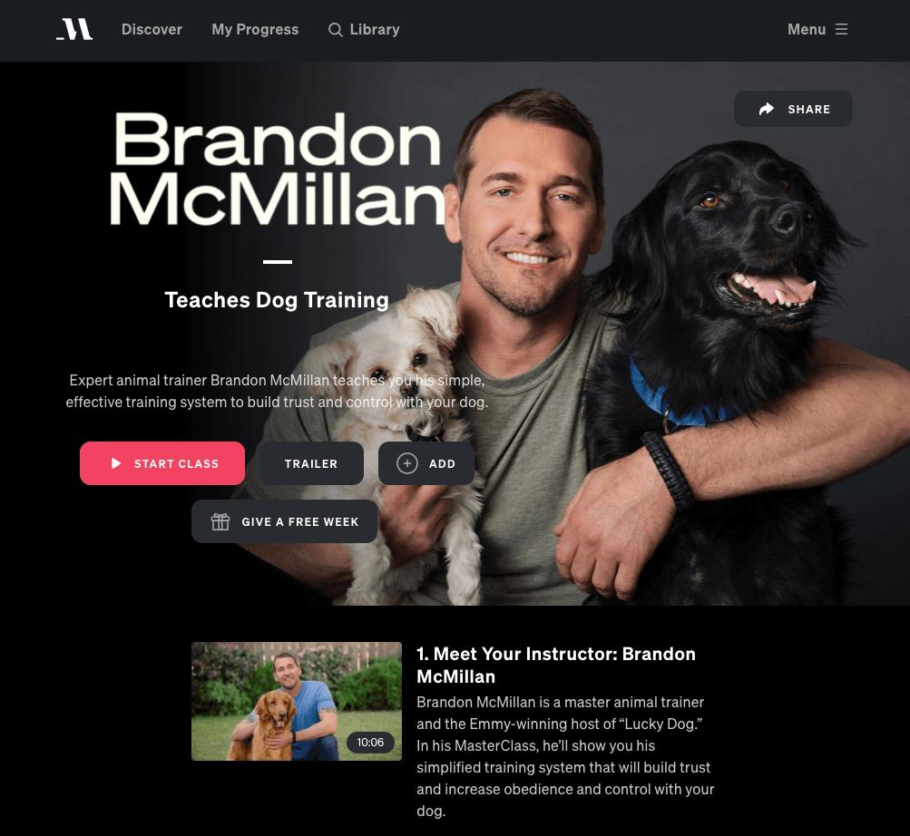 brandon mcmillan masterclass review