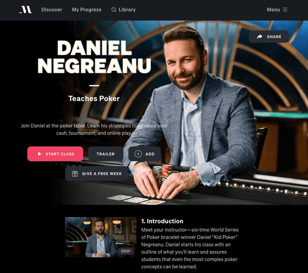 daniel neagreanu masterclass review