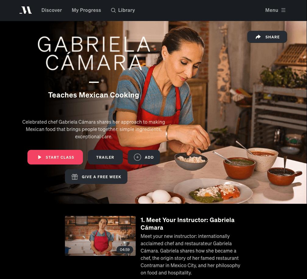 gabriela camara masterclass review