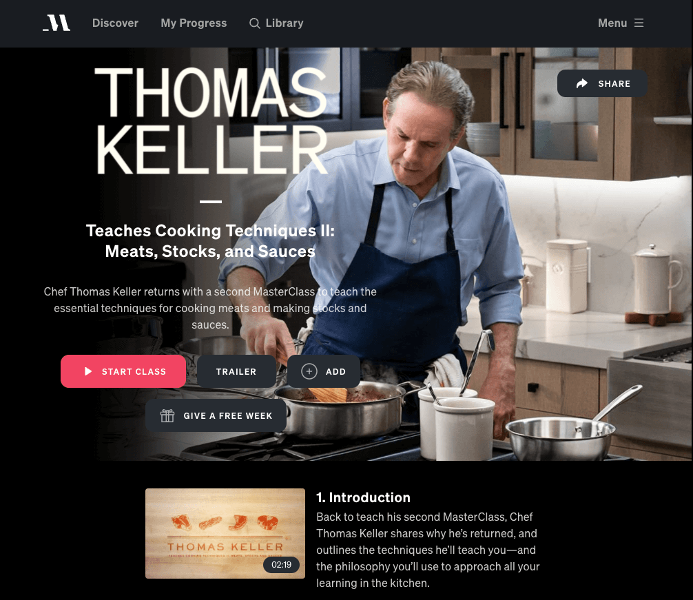 thomas keller masterclass two meat sauces stock